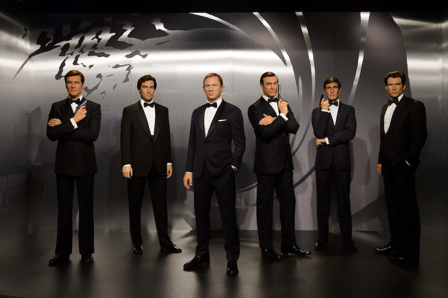 See All Six James Bonds Side By Side In London