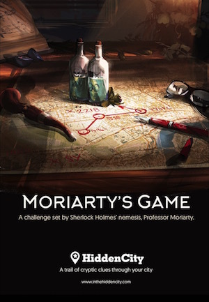Ticket Alert: Moriarty's Game, London's Latest Team Treasure Hunt