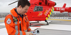 London News Roundup: Air Ambulance Trials Portable Brain Scanner