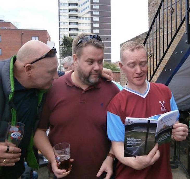 The Man Who Sells A Literature Fanzine To West Ham Fans
