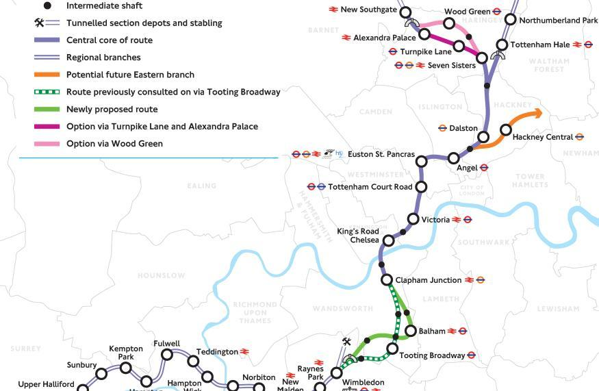 Explaining Plans For London's Next Railway