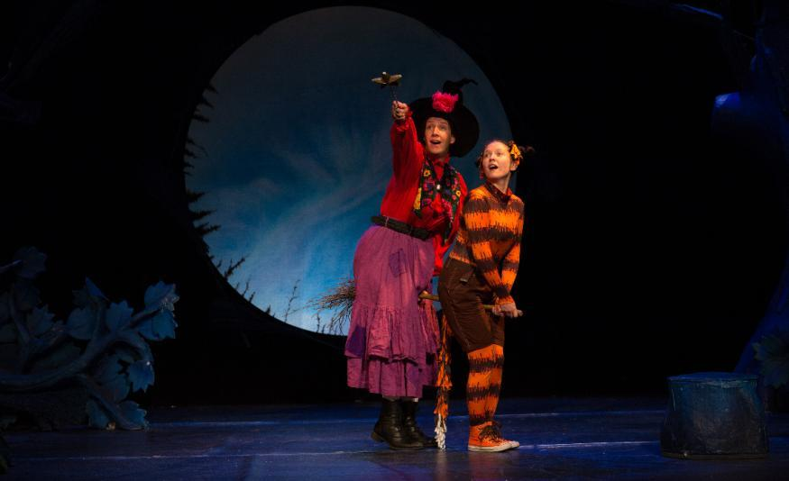 Review: Families Will Love This Inventive Stage Version Of Room On The Broom