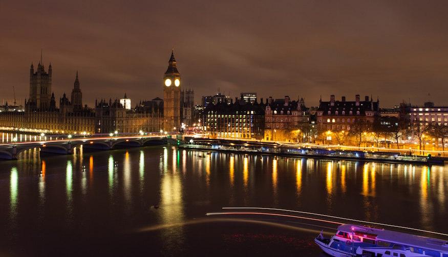Romantic night in london
