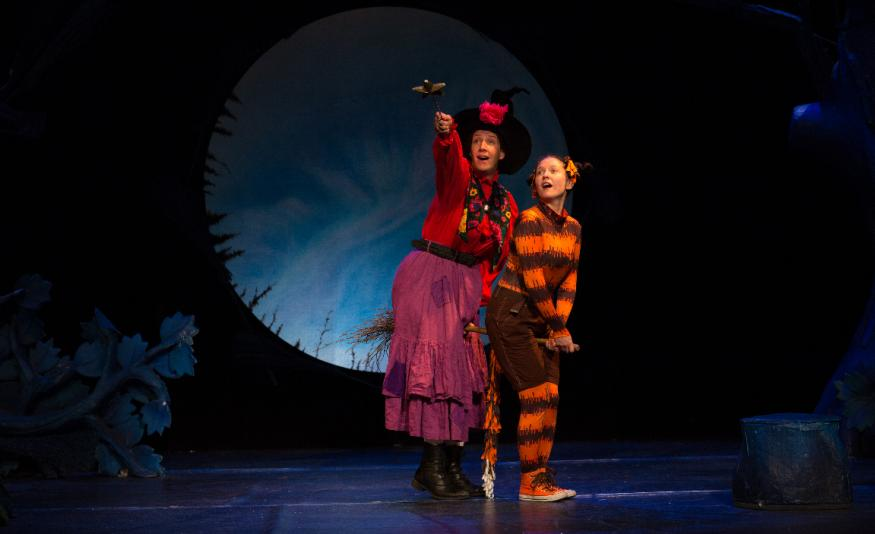 Review: Families Will Love This Inventive Stage Version Of Room On The Broom Part 57