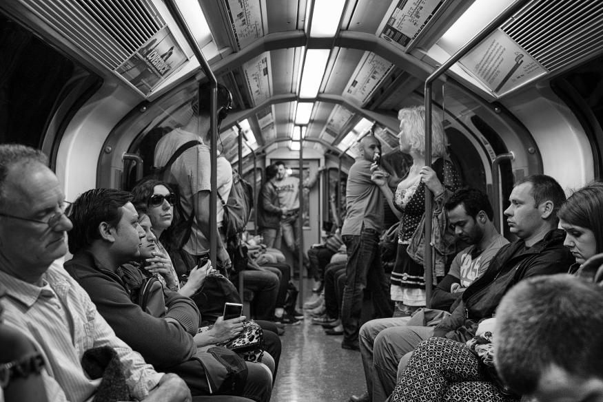 Should men give up their seats for women on the tube? Join the debate here