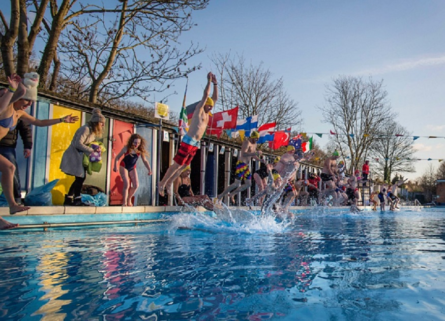 4 Freezing Outdoor Swims In London Londonist
