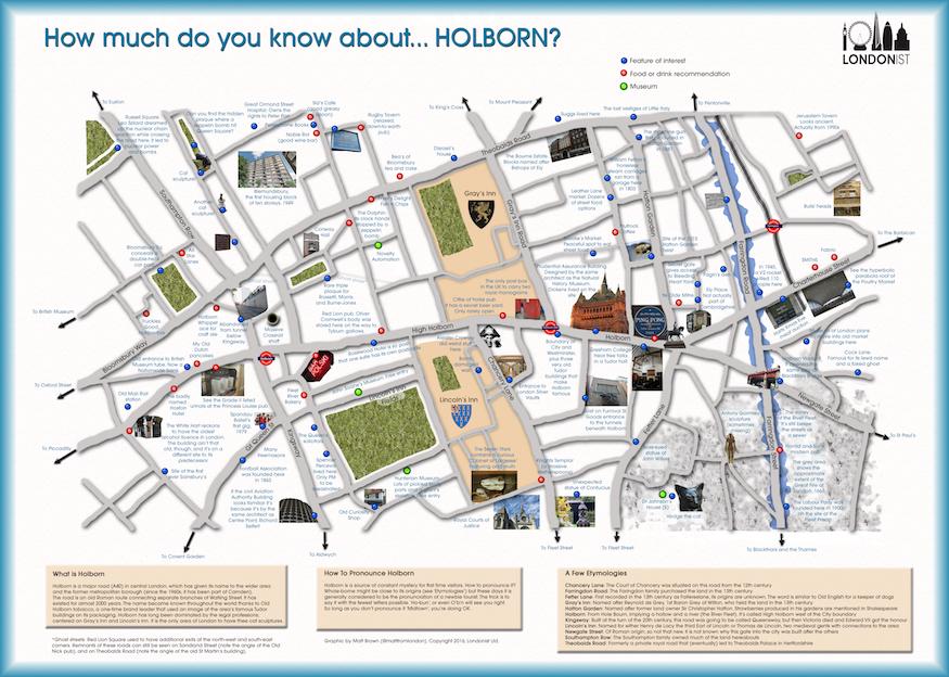 Hidden Secrets Of Holborn