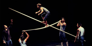 Tipping Point: Mesmerising Aerial Circus Is All Up In The Air