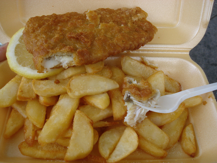 Where Was London's First Fish And Chip Shop?