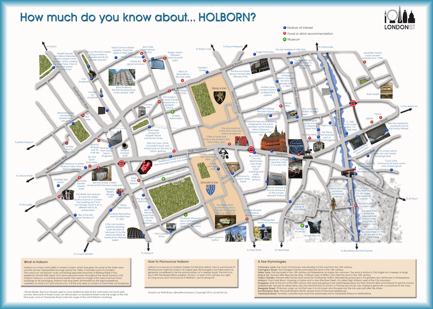 Hidden Secrets Of Holborn