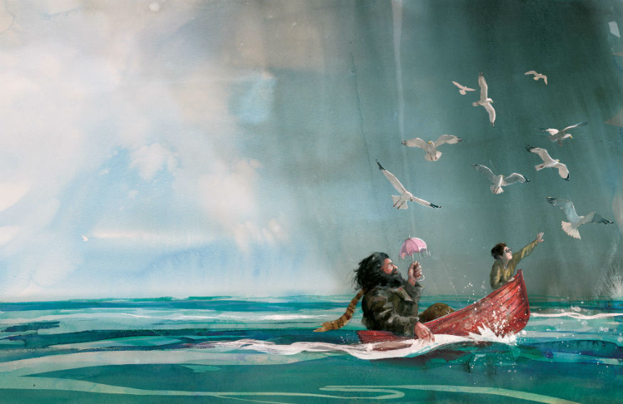 See Illustrations Of Harry Potter, Peter Pan And Matilda At The Foundling Museum
