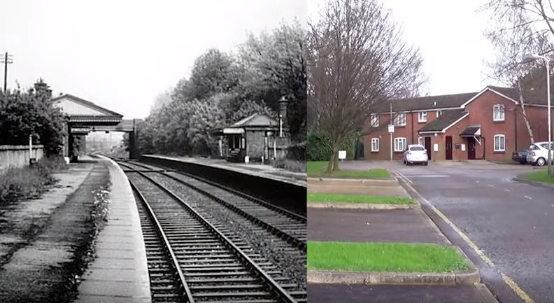 Video: London's Lost Railways - West Drayton To Uxbridge Vine Street