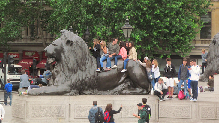 A Closer Look At Some Of London's 10,000 Lions
