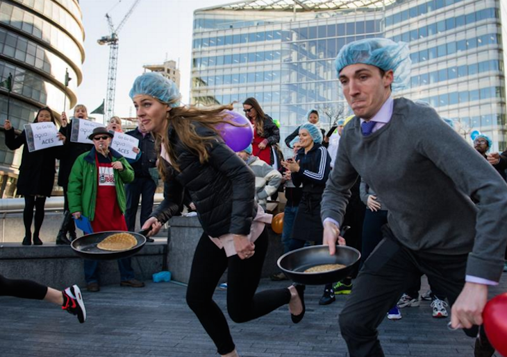 Pancake Races In London This Shrove Tuesday | Londonist