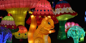 A Look Around The Magical Lantern Festival At Chiswick House Gardens