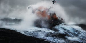 High Drama On The High Seas: Incredible Photographs Of The RNLI