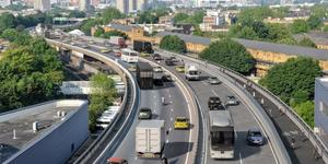 TfL Proposes Segregated Cycle Lane On The Westway