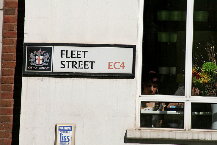 The Independent And The Slow Death Of Fleet Street