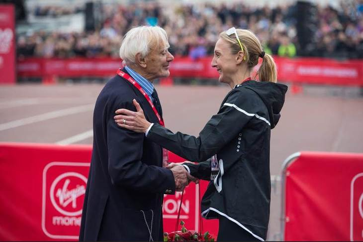 The Story Of The Man Who Founded The London Marathon