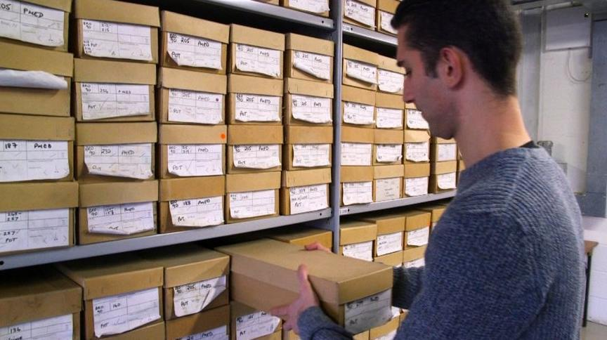 Video: Bear Bones And Roman Manacles In The Museum Of London's Archives