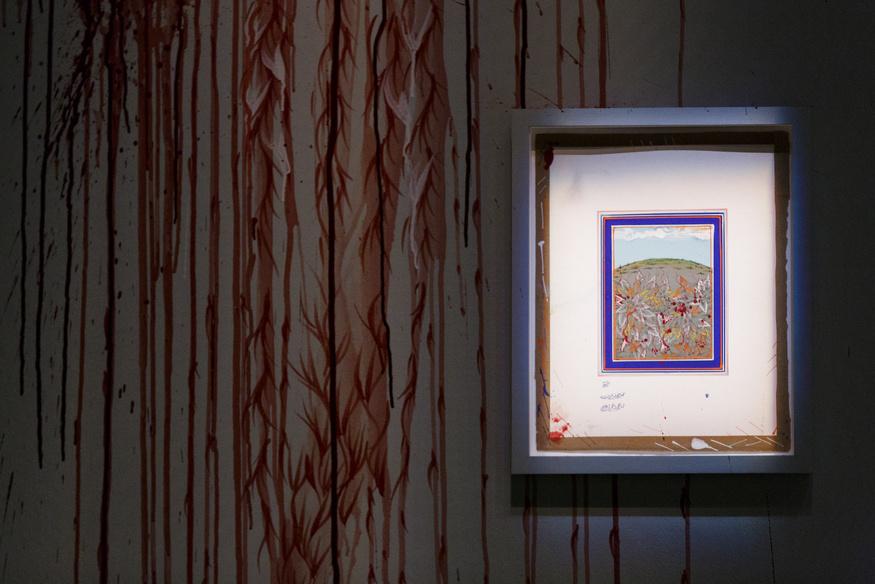 Review: Poor Curation Spoils Qureshi's Minature Landscapes