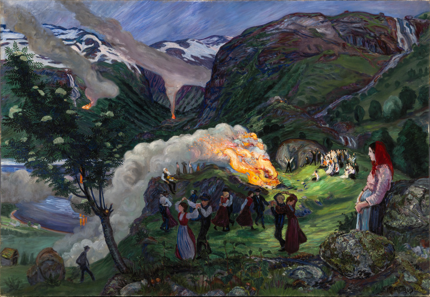 Magical Paintings Of Norway At Dulwich Picture Gallery