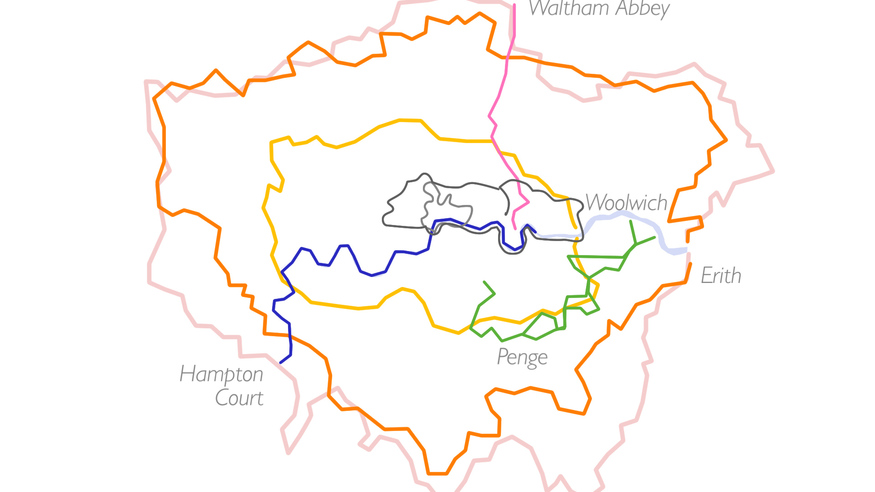 Video: London's 7 Official Walking Routes