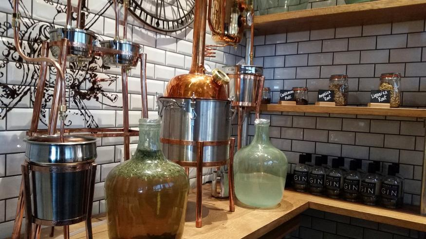 Gatwick Gets The World's First Airport Gin Distillery