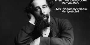 15 Dickens Characters With Really Silly Names