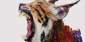 See Railway Arches Transformed Into Endangered Animals Mural