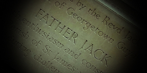 A Plaque For Father Jack