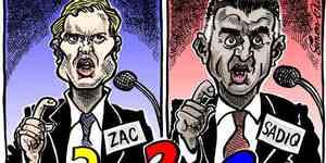 Cartoon: Decisions, Decisions