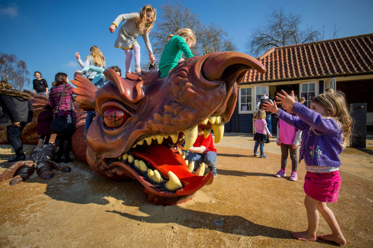 the magic garden opens on 25 march at hampton court palace east