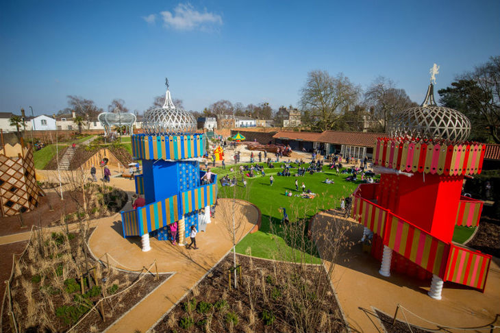 Vegetable garden pictures - Offering An Exhilarating Helter Skelter Style Slide As Well As A Very