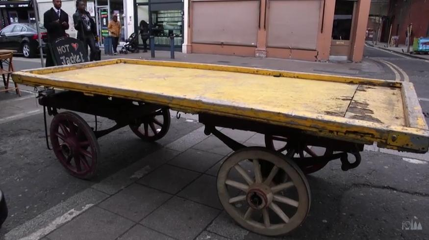 Video: Brixton's Old Market Barrows