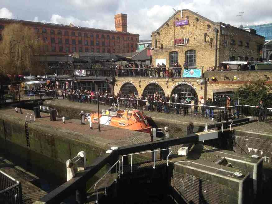 Have you ticked off the canal walk from Camden to Thames?
