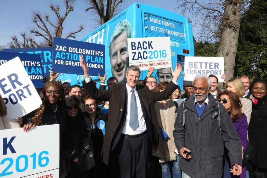 Mayoral Election Digest: Zac Goldsmith 'Wants To Be Pansexual For London'