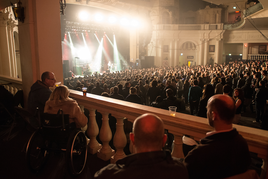 What Are London's Music Venues And Festivals Doing For People With Disabilities?
