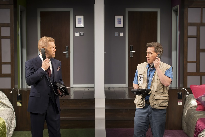 Review: Branagh And Brydon Strip For Unfunny French Farce The Painkiller