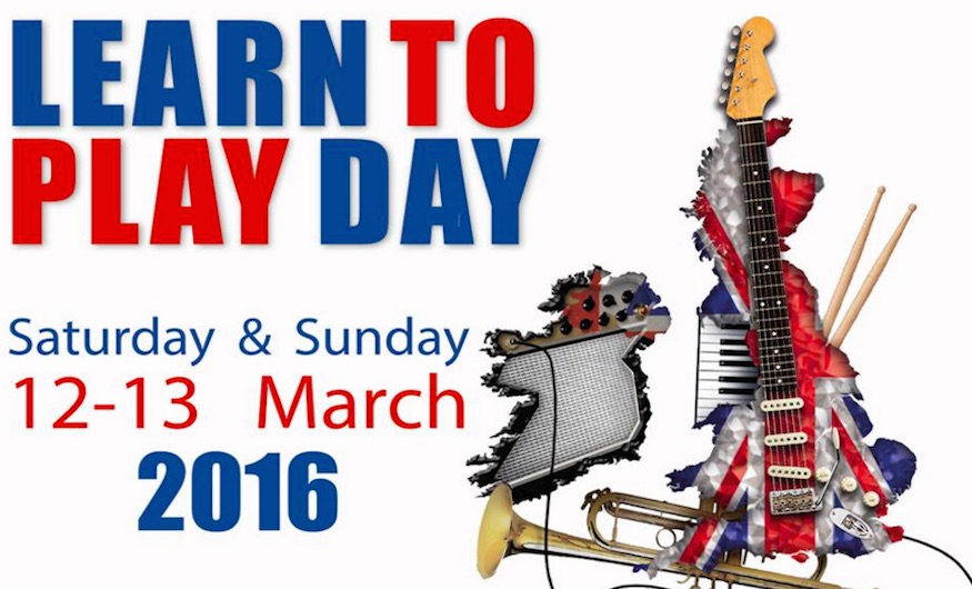 Learn A Musical Instrument For Free This Weekend