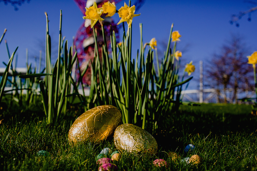 Whatever The Weather This Easter Queen Elizabeth Olympic Park Has To Be One Of Londons Top Spots Enjoy It There Are Over 560 Acres Gorgeous