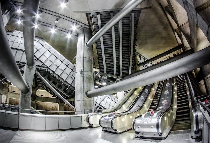 Don't forget your camera when you're visiting these tube stations