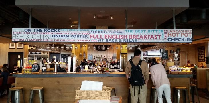 Alternative Pub Crawls: London Airports