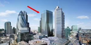 Skyscraper With A Skirt Rises On Bishopsgate