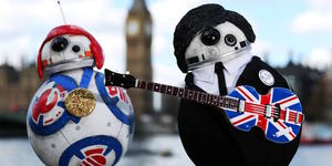 See Star Wars BB-8 Dressed As Paul McCartney