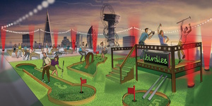 Birdies Crazy Golf Is Back... On A Rooftop