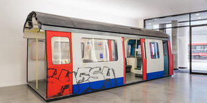 Why Is There A Tube Train Inside An Aldgate Office?