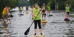 Paddleboard Your Way Down The Thames