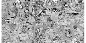 Incredible Map Of London Goes On Show