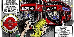 Cartoon: Zac And Sadiq, Men Of The People